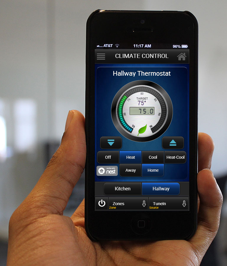 Nest Works at Home with Cinemar