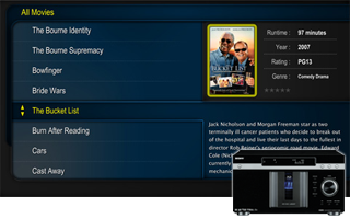 DVDLobby 3.90 HD User Interface